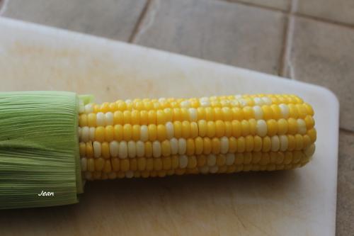 Épis de maïs cuit au four à micro-ondes  de Nell