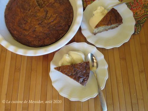 Petit gâteau aux bananes et aux épices +  de Messidor