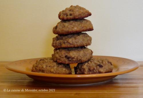 Biscuits aux bananes de Josée di Stasio  de Messidor