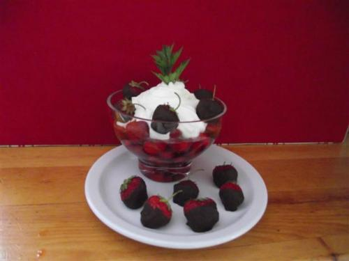 Fraises, Persil & Chantilly